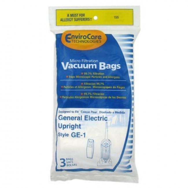 free s h general electric walmart ge 1 upright vacuum cleaner bags generic 3 bags. Black Bedroom Furniture Sets. Home Design Ideas