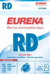 "Free S/H - Eureka Style ""RD"" Belts #52100B - Genuine - 2 Belts"