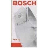Bosch Type U Vacuum Cleaner Bags # BBZ5AFUC - Genuine - 5 bags