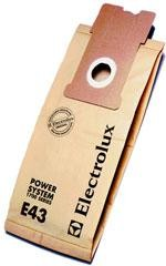 Electrolux EL 204B Aptitude Upright vacuum cleaner bags- Genuine - 5 bags
