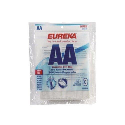Free S/H - Eureka 58236B Style AA Vacuum Bags - Genuine - 3 Bags