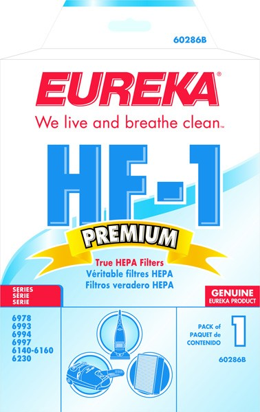 Free S/H - Eureka HF1 HEPA Filter # 60286 - Genuine