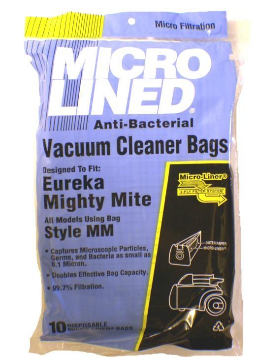 Free S/H - Eureka MM Micro-Lined Vacuum Bags - Generic - 10 Bags