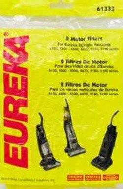 Free S/H - Eureka Motor Filter  # 61333A -  Genuine - 2 Pcs.