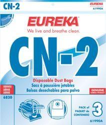 Eureka 61990A Style CN-2 Vacuum Bags - Genuine - 3  bags