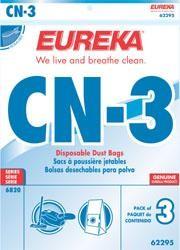 Eureka 62295 Style CN-3 Vacuum Bags - Genuine - 3 bags
