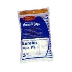 Free S/H - Eureka PL Upright Vacuum Bags - Generic - 3 bags
