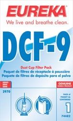 Free S/H - Eureka DCF9 Dust Cup Filter  # 62396   -  Genuine