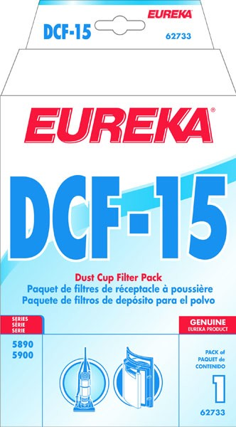 Free S/H - Eureka DCF15 Dust Cup Filter # 62733 - Genuine
