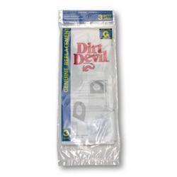 Dirt Devil 3-010347-001 Type G Standard Paper Vacuum Bags - Genuine - 3 Bags