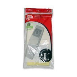 Dirt Devil 3-920750-001 Type U Vacuum Bags - Genuine - 3 bags