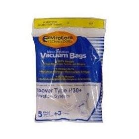 Free S/H - Hoover H30 Telios Vacuum Bags #40101001- Generic - 5 bags + 1 filter