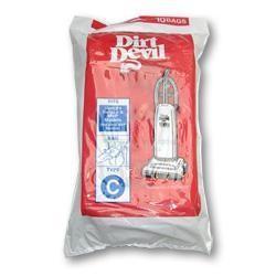 Dirt Devil 3-700148-001 Type C Vacuum Bags - Genuine - 10 bags