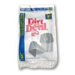 Dirt Devil 3-200147-001 Type F Vacuum Bags - Genuine - 3 Bags