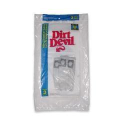 Dirt Devil 3-920047-001 Type U Vacuum Bags - Genuine - 3 bags