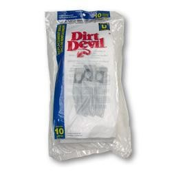 Free S/H - Dirt Devil 3-920048-001 Type U Vacuum Bags - Genuine - 10 bags