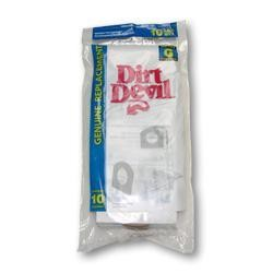 Dirt Devil 3-010348-001 Type G Microfresh Vacuum Bags - Genuine - 10 bags
