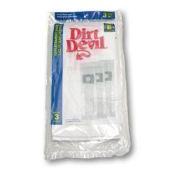 Dirt Devil 3-070147-001 Type E Standard Paper Vacuum Bags - Genuine - 3 Bags