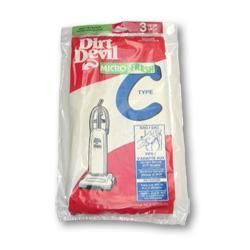 Dirt Devil 3-727075-001 Type C Microfresh Vacuum Bags - Genuine