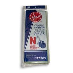 Hoover Type N Vacuum Bags # 4010038N - Genuine - 5 Bags