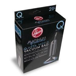 Hoover Type Q Hepa Vacuum Bags # AH10000 - Genuine - 2 Bags