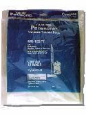 Free S/H - Panasonic Type C-3 vacuum cleaner bags # MC-125PT - Genuine - 3 Bags