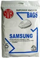 Free S/H - Samsung Canisters Vacuum Cleaner Bags # XSM901 - Genuine - 5 Bags