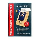 Free S/H - Sanitaire Style S Classic Vacuum Bags #EL200B  - Genuine - 5 Bags
