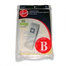 Free S/H - Hoover Type B Type B Standard Filtration Disposable Vacuum Bags  # 4010102B - 1 Bag