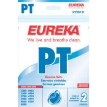 "Free S/H - Eureka Style ""PT"" Belts #52201D - Genuine - 2 Belts"