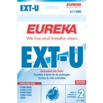 "Free S/H - Eureka Style ""U"" Extended Life Belts #61120D - Genuine - 2 Belts"