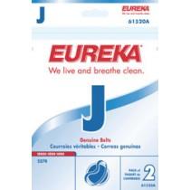 """Free S/H - Eureka Style """"J"""" Belts  #61520 - Genuine - 2 Belts"""