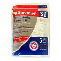 Free S/H - Sanitaire Style SD Odor Eliminating Vacuum Bags #63262 - Genuine - 5 Bags