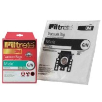 Free S/H - Miele Type G&N / GN Filtrete 3M Dustbags. 5 Bags & 2 Filters. Replaces Miele Part #07189520, 05588941)