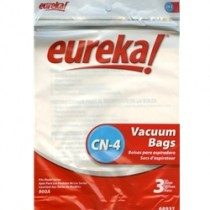 Free S/H - Eureka Style CN-4 Disposable Canister Dust Bags #68937 - Genuine - 6 Bags