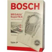 Bosch Type P MEGAfilt Super TEX Vacuum Cleaner Bags # BBZ52AFP2U