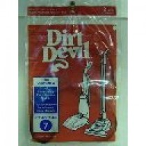 Free S/H - Dirt Devil Style 7 Vacuum Belt  # 3-400615-001  - Genuine - 2 Belts