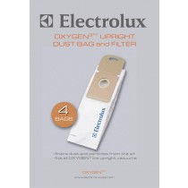 Electrolux EL 205B Oxygen 3 Upright vacuum Bags- Genuine - 4 bags