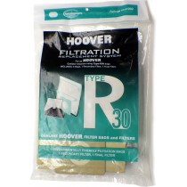 Hoover Type R30 Vacuum Bags # 40101002 - Genuine - 5 Bags + 2 Filters
