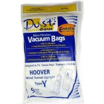 """Free S/H - Hoover """"Y"""" Vacuum Bags #4010100Y- Generic - 9 bags"""