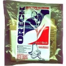 Free S/H - Oreck dutchTech Hypo-Allergenic Bags  #  ET511PK - Genuine - 5 Bags