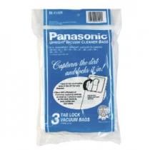 Free S/H - Panasonic Type U-6 Tab Lock Micro Paper  Vacuum Bags # M-CV145M  - Genuine - 3 Bags