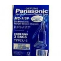 Free S/H - Panasonic Type U-3 Bags #MC-115PT - Genuine - 3 Bags
