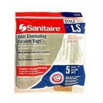 Free S/H - Sanitaire LS Odor Eliminating Vacuum Bags #63265 for 5700 and 5800 Upright series - 5 Bags