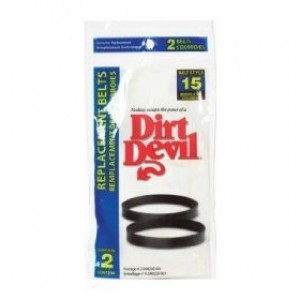 Free S/H - Dirt Devil Style 15 Vacuum Belt  # 3-SN0220-001  - Genuine - 2 Belts